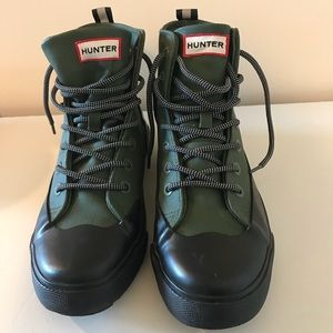 Hunter for Target green black shoes